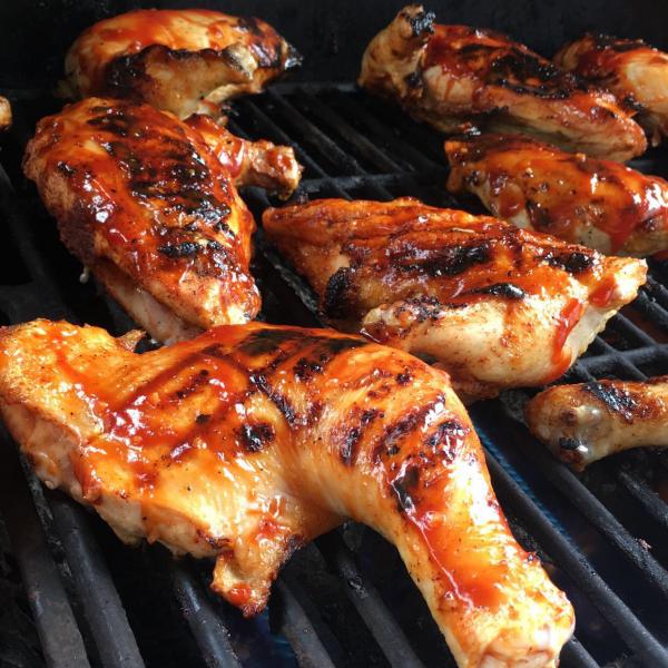 Grilled BBQ Chicken (GF)