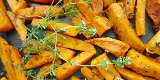 Brown Butter Sage Roasted Carrots (GF, Vg)