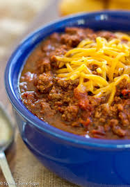Homemade Chili (GF)