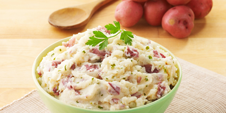 Mashed Potatoes with Fresh Parsley (GF, Vg)