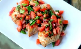 Photograph of Tomato Bruschetta Chicken